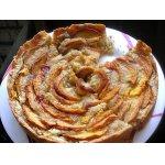 Миндально-персиковый пирог