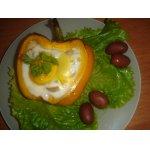 Яйца в перцах