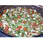 Салат из пророщеной сои