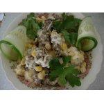 Салат из жареного мяса