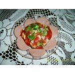 Салат из бобов и лука
