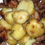 Картофель с фенхелем
