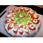 Печeночный тортик