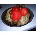 Консервированные печеные баклажаны