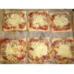 Мини-пицца с анчоусами