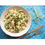 Салат из 2 -х видов капусты с ветчиной