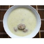 Суп-пюре из цветной капусты с фрикадельками