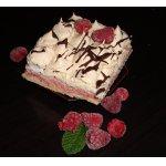 Торт Дуэт или Малина плюс безе