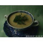 Суп-крем из картофеля и порея
