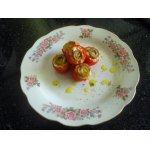 Запеченые помидоры, фаршированные сыром фета
