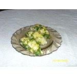 Закуска Заливное из минтая с яйцом