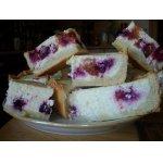 Творожно-ягодный пирог – кулинарный рецепт