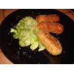 """Рыбные палочки и овощные макароны """"от Маруси"""""""