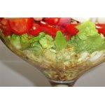 Салат из спаржи и помидоров