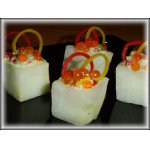 Порционный салат Льдинки