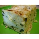 Слоеный пирог из лаваша с картошкой