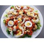 Лососевый салат - Zalmsalade