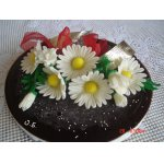 Торт-суфле с черешней
