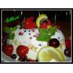 """Торт """"Фруктово-ягодный"""" без выпечки – кулинарный рецепт"""
