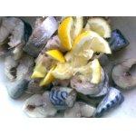 Скумбрия маринованная с лимоном