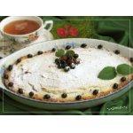 Вишневый тарт с творожным суфле