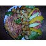 Окорочка, запеченные в духовке с картошкой По-домашнему