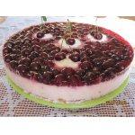 Вишнево-йогуртовый торт