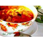 Суп с нутом и помидорами