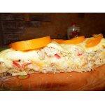 Слоeный куриный пирог из лаваша А-ля лазанья