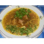 Суп из говядины с баклажанами