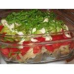 Салат из рыбы Летний вечер