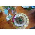 Нежный ягненок с маслятами и  болгарским перцем