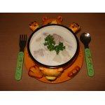Молочный суп с фрикадельками