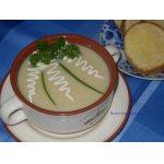 Суп Вишисуаз с чесночными гренками