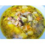 Куриный суп Жареный