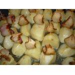 Кораблики из картофеля