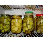 Салат из огурцов с луком