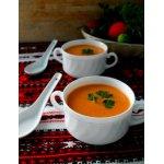 Суп из огурцов и помидоров