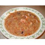 Суп из морепродуктов по-флорентийски