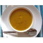 Суп из печеной тыквы