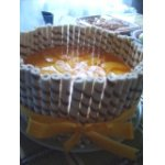 """Торт """"Персиковый подарок"""""""