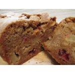Яблочно-клюквенный пирог