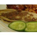 Салатный цикорий, запеченный с анчоусной пастой