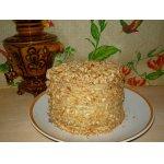 Торт творожный на сковороде