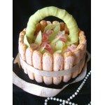 Праздничный торт Корзинка роз