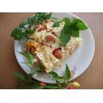 Тальятелле с помидорами черри в духовке