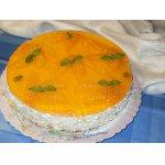 Апельсиново-творожный торт День Ангела