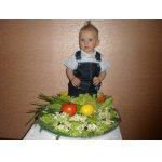 Овощная закуска с семгой Чиполлинка