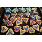 Песочное печенье с королевской глазурью / Shortbread Cookies with Royal Icing