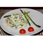 Теплый зимний салат